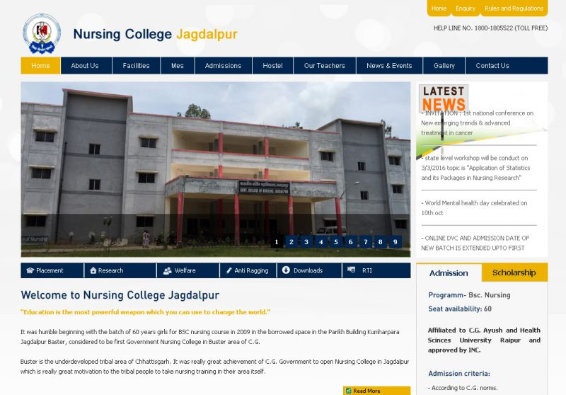 Nursing College Jagdalpur